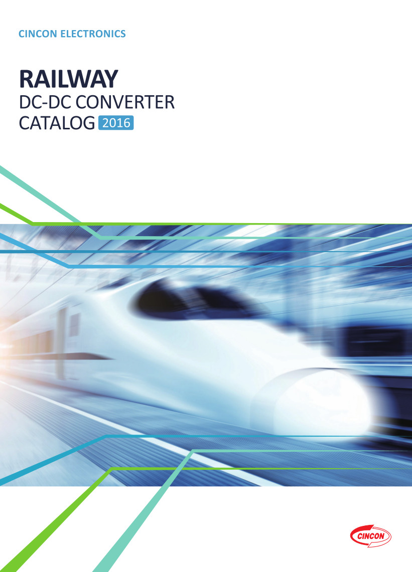 Couverture catalogue Cincon Rail
