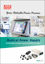 Couverture Catalogue Médical MEAN WELL